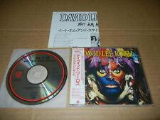 """David Lee Roth """"Eat 'em and smile"""" Japan CD w/Sticker-OBI 32XD-446 VAN HALEN"""