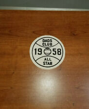 1958 DADS CLUB ALL-STAR BASEBALL PATCH