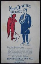 Louisville, KY Pentecostal Publishing Co. New Clothes for the Old Man Postcard