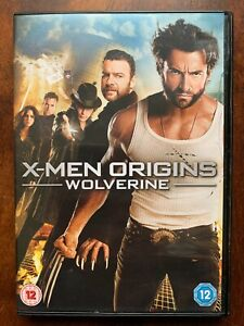 X Men Origins Wolverine DVD 2009 Marvel Universe Logan Action Film Movie