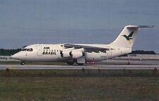 POSTCARD   AVIATION   BAe  146 - 200  At  Ft  Lauderdale   1991