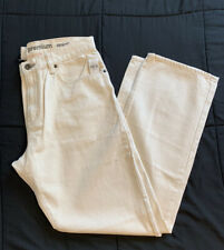 Men's GAP Natural Colored Straight Leg Jeans 36/32