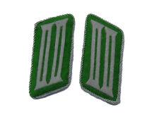 German WW2 Police enlisted ranks collar tabs
