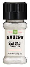 Sauer's sea salt grinder 4.75oz 3pack