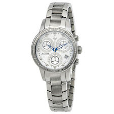Accutron by Bulova Masella Silver Dial Ladies Watch 63R34