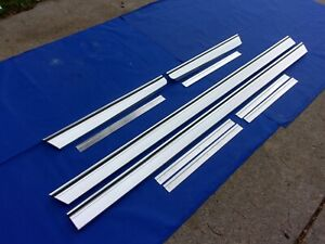 NEW 1965 Chevrolet Impala Rocker Panel Moldings & Qtr Extensions With Clips