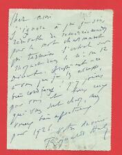 CC97#-L.A.S-REYNALDO HAHN-[REVUE L'ILLUSTRATION-RENE BASCHET]-1925