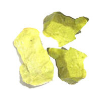 100g Natural Lemon Stone Rough Quartz Gravel Crystal Healing Stone Specimens NEW