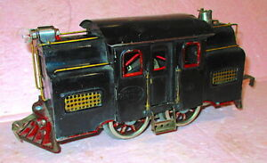 Lionel prewar Standard Gauge Early #33 NYC Locomotive TESTED- PLEASE READ