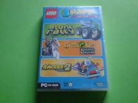Lego 3 Games (Stunt Rally/Creator/Racers 2) -italienisch-