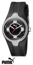 New Authentic Puma GRID BLACK Silicon Watch