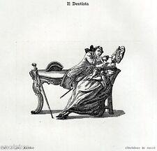 IL DENTISTA, di Will Johann Martin. Odontoiatria. Dentiste.Dentist.Zahnarzt.1929