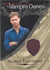 """Vampire Diaries - M18 Matt Davis """"Alaric Saltzman"""" Costume Card"""