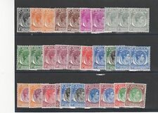 Singapore 1938-52 set to $5 + shades LMM/MM