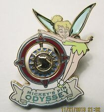 Disney Mickey's Pin Odyssey Passholder Tinker Bell with Compass Pin
