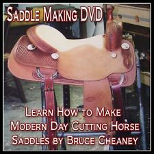 Saddle Making Video DVD set How to Make Cutting Horse Saddles