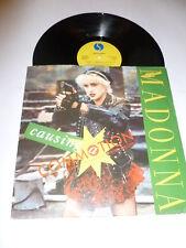 """Madonna-provocando una conmoción-Original 1987 Reino Unido Sire Etiqueta 3-track 12"""" SINGLE"""