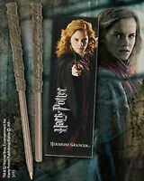 Hermione Granger Wand Pen and Bookmark Gift Set Hogwarts Noble Harry Potter