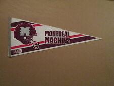 World League Montreal Machine 2 Bar Facemask Pennant