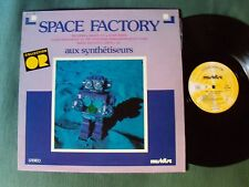 SPACE FACTORY LP 1978 French synth MUSIDISC 30 CO 1458 BODDIN, RENAUX, NOEFNET