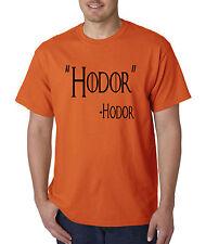 New Way 273 - Unisex T-Shirt Hodor Hold The Door Game Of Thrones
