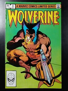 🐻 (a) WOLVERINE #4 (of 4)(1982 MARVEL Comics) VF Book