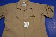 US Navy Uniform Khaki Short Sleeve Shirt Size XL Marine Corps USMC-BRAND NEW USN