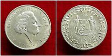 Suriname - Zilveren 1 Gulden 1962 vrijwel UNC ~ Juliana ~ Sch. 1291