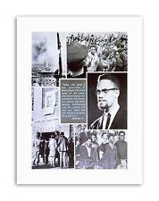 CIVIL RIGHTS AFRICAN AMERICAN MALCOLM X ISLAM Political Canvas art Prints