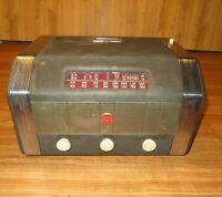 Vintage 1949 RCA Coin Operated Tube Radio Model MI-13174 Hotel Coin OP radio