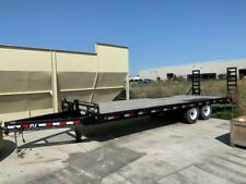 New ListingPj Trailers F8242 2015 Deckover Commercial Trailer 8ft X 21ft Bed 8ft Ramp