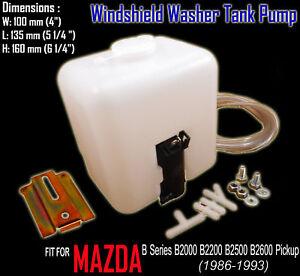 Windshield Washer Tank Pump for Mazda B Series B2000 B2200 B2500 B2600 Pickup