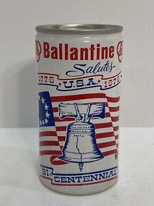 Falstaff Brewing Corp. Ballantine Salutes Bi-Centennial Pull Tab Beer Can USA