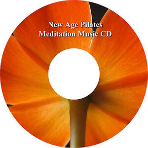 New Age Pilates Meditation Music CD Relaxation Stress Relief Sleep Aid Calming