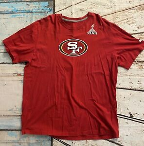 Colin Kaepernick #7 San Francisco 49ers Super Bowl XLVII T-shirt ~ Nike / XXL