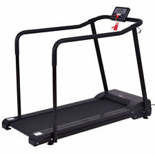 Electric Walking Assistant Treadmill w/ Extra-long Handles Fitness For Olders