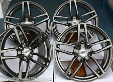 "17"" GM DRS ALLOY WHEELS FITS HONDA ACCORD CIVIC CR-V CRZ HR-V 5X114 MODELS"