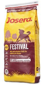 15kg Josera Dog Emotion Festival Hundefutter Superhundefutter