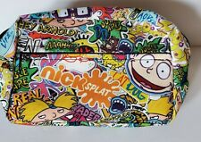 Nickelodeon 90s Retro Fanny Pack Bag Nick Splat Cartoon Rugrats Hey Arnold DD