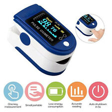 Fingertip Pulse Oximeter Blood Oxygen Monitor for Adults Heart Rate Measurements