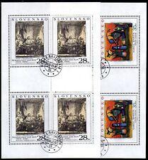 Slowakei 523/24 o KB Gemälde (2110)