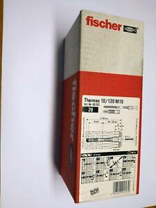 20 Stk Fischer Thermax 10/120 M10 orginalverpackt