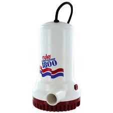 Rule Automatic Bilge Sump Utility Pump 1800 GPH 110V 110 Volt Boat Pool A53S