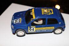 NINCO RENAULT CLIO 16v '94 II RALLY CAT - COSTA BRAVA SLOT 50108 Nagelneu Limite
