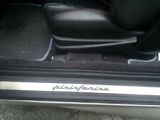 Battitacco in acciaio inox logo pininfarina per FIAT COUPE