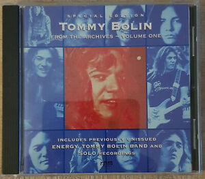 TOMMY BOLIN  FROM THE ARCHIVES  VOLUME ONE