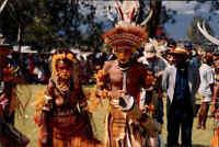 Papua-Neuguinea Postkarte Native People Einheimischer New Guinea Postcard unused