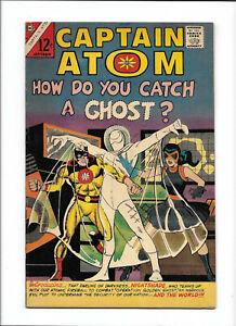"""CAPTAIN ATOM #82 [1966 FN-VF] """"HOW DO YOU CATCH A GHOST?"""""""