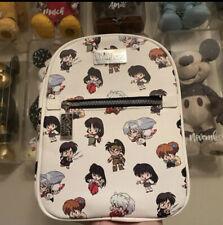 Inuyasha Chibi Characters Mini Backpack Bioworld Japanese Anime: Nwt