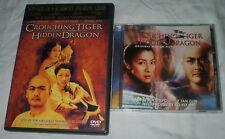 Crouching Tiger, Hidden Dragon Dvd & Soundtrack Cd